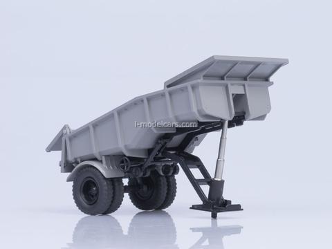 Semitrailer MAZ-5232V gray AutoHistory 1:43