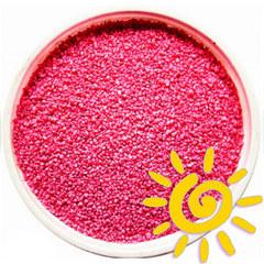 Кварцевый песок (для рисования), розовый