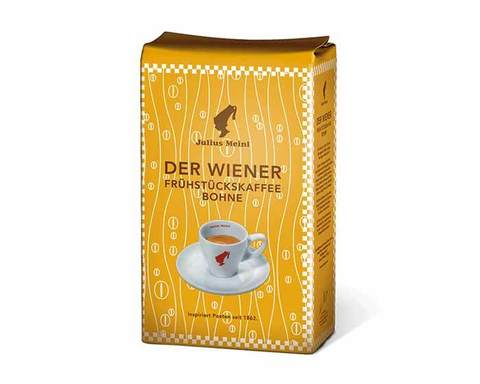 Кофе в зернах Julius Meinl Der Wiener (По-венски), 500 г