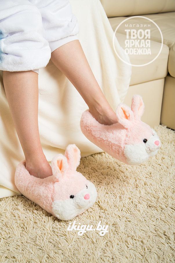 """Тапочки Тапочки """"Кролики Нежно - Розовые"""" zaiac-roz.jpg"""