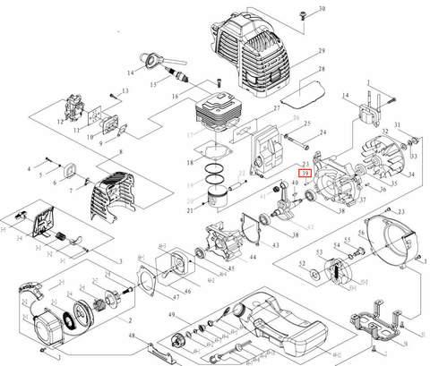 Штифт установочный полый 7X5.5X11 для лодочного мотора T3,5 Sea-PRO