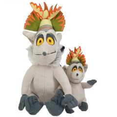 Мадагаскар мягкая игрушка Король Джулиан