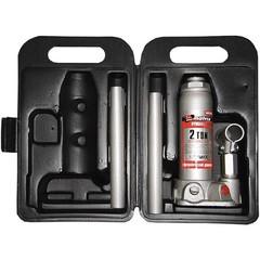 Домкрат гидравлический бутылочный, 2 т, высота подъема 181-345 мм, в пластиковый кейсе Matrix Master