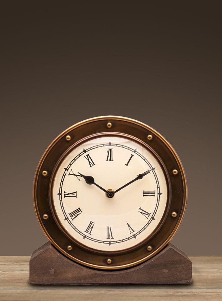 Часы настольные Restoration Hardware Алейн большие