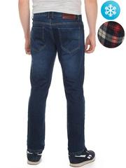 LN852 джинсы мужские утепленные, синие