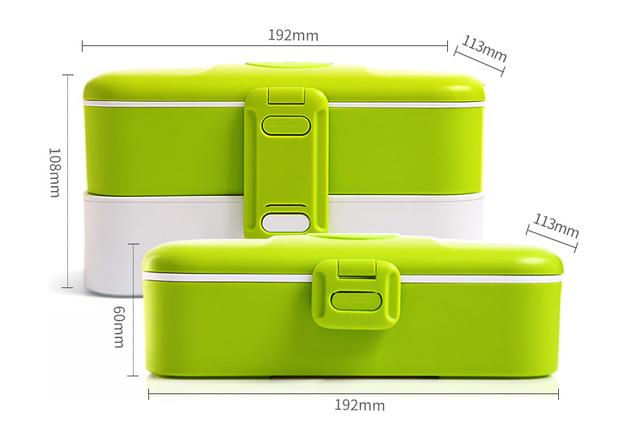 Ланч-бокс LB Original зеленый