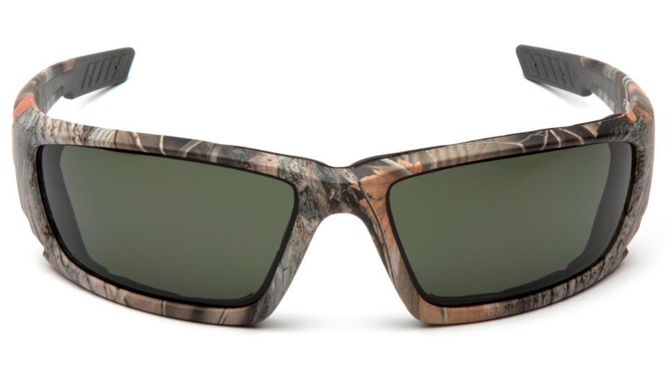 Очки баллистические стрелковые Pyramex Brevard VGSCM1026DTB Anti-fog темно-зеленые 10%
