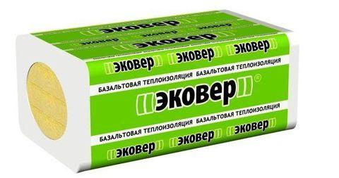Эковер Вент-Фасад 65-70 кг/м3 1000х600х100 4 шт