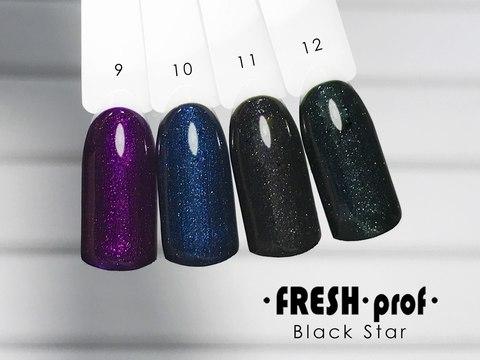 Гель лак Fresh Prof Black Star 10мл №09