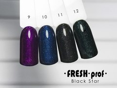 Гель лак Fresh Prof Black Star 10мл №09