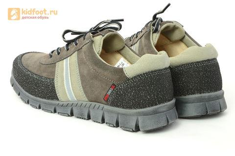 Ботинки Лель (LEL) для мальчика, цвет Коричневый, 6-1045. Изображение 7 из 15.