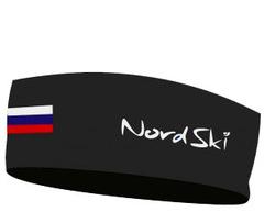 Повязка NordSki Active Black Rus (OFSA)