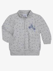 BAC004991 Пиджак для мальчиков, серый меланж