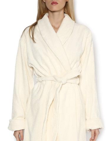 Элитный халат махровый Top Model бежевый от Blumarine