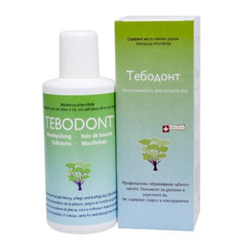 Ополаскиватель для полости рта Тебодонт Tebodont Dr.Wild, 400 мл ДО 07.2020
