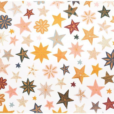 Кардсток  двусторонний 30х30 см.  с глиттером. Snowflake Double-Sided Foiled Cardstock