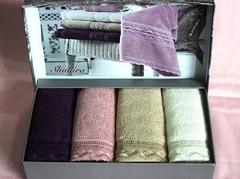 Набор полотенец SHAKIRA  ШАКИРА в размере 30х50  Maison Dor (Турция)