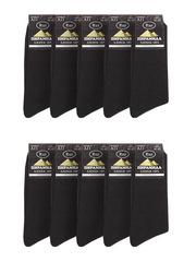 A11 носки мужские, черные (10шт)
