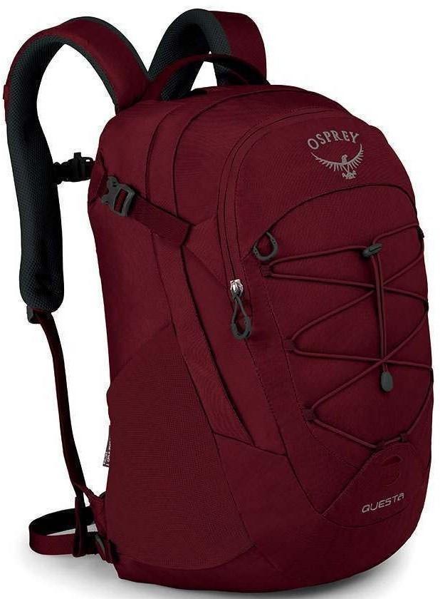 Городские рюкзаки Рюкзак женский Osprey Questa Red Herring questa_f19_side_red_herring.jpg