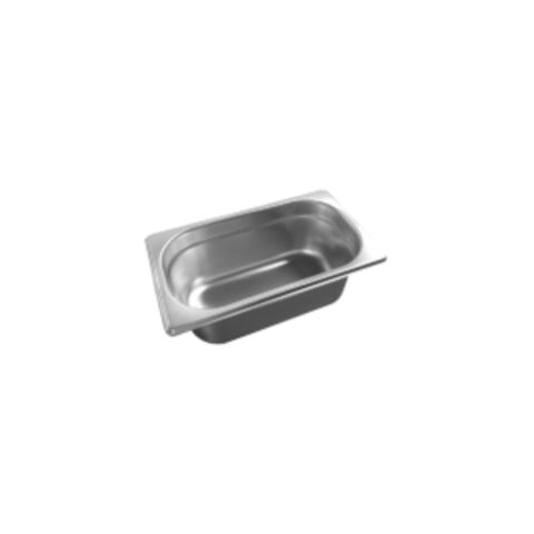 Гастроемкость GN1/4*100mm, 265х162х100*0,6мм (нерж.сталь)