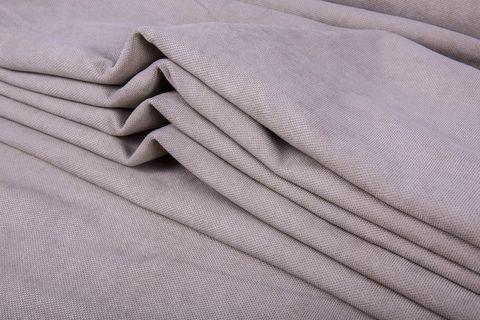 Штора готовая однотонная из портьерной ткани | цвет: пастельно-фиолетовый | размер на выбор