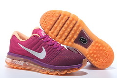 Nike-Air-Max-2017-Pink-Orange-Krossovki- Najk-Аir-Maks-2017-Rozovye-Oranzhevye