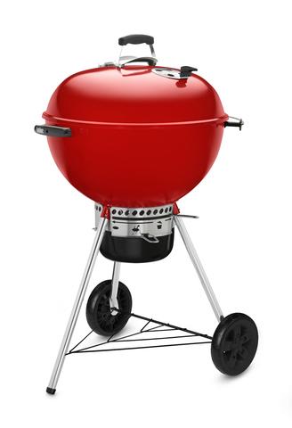 Гриль-барбекю угольный Weber Master-Touch GBS, 57 см, красный.