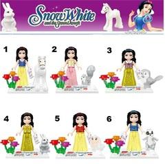 Minifigures Snow White Blocks Building