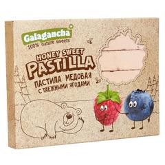 """Пастила """"Galagancha"""" медовая с таежными ягодами 190г"""