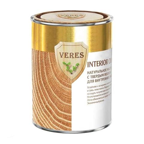 VERES OIL INTERIOR/ВЕРЕС ОЙЛ ИНТЕРИОР масло с твердым воском для деревянных поверхностей
