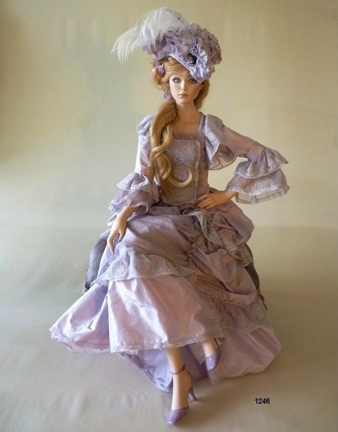 Кукла фарфоровая коллекционная Marigio Marie Antoinette