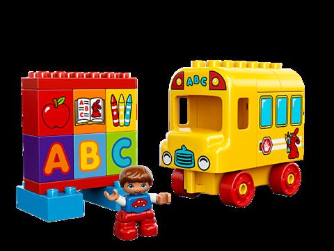 LEGO Duplo: Мой первый автобус 10603 — My First Bus — Лего Дупло