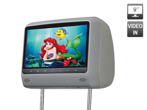 Подголовник с LCD монитором AVIS Electronics AVS0944BM (серый)