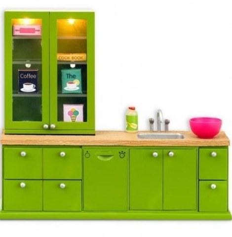 Кухонный набор с буфетом Lundby Смоланд 60202600