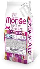 Monge Cat Sterilized Сухой корм для взрослых стерилизованных кошек 10 кг