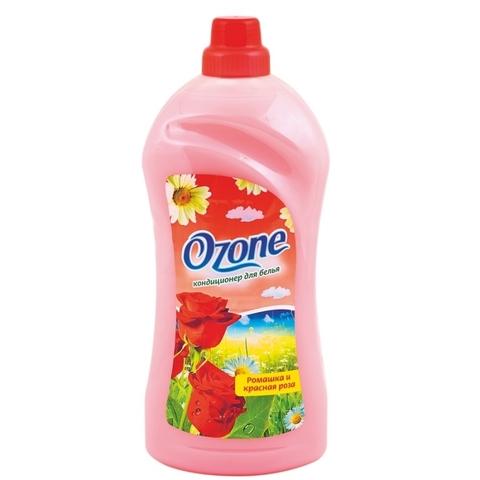 Фабрика Ромакс Ozone Кондиционер для белья Ромашка и красная роза 2л