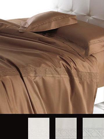 Постельное белье 2 спальное евро макси Cesare Paciotti Vienna коричневое