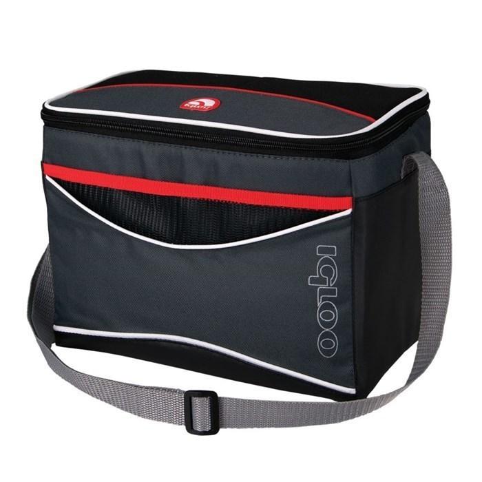Сумка-холодильник (термосумка) Igloo Collapse&Cool 12, 9L (черная/красная)