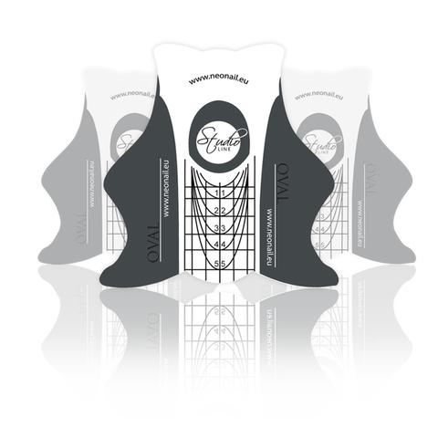 Формы для ногтей бумажные NeoNail «Studio Oval» 100 шт. № 4980-2