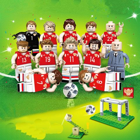 Минифигурки Футбольная команда серия 377