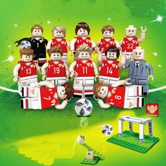 Минифигурки Футбольная команда России серия 377