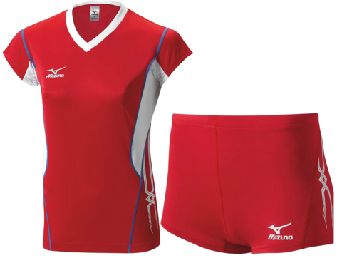 Волейбольная форма Mizuno Premium женская красная