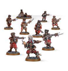 Vostroyan Firstborn Squad. Весь отряд