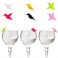 Маркеры для бокалов Humming Bird 6 шт. Qualy