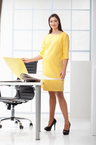 Платье 06188 желтый