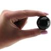 Вагинальные шары Medium Black Glass Ben-Wa Balls (2,9 см.; вес 65 гр.)