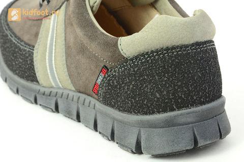 Ботинки Лель (LEL) для мальчика, цвет Коричневый, 6-1045. Изображение 13 из 15.