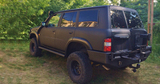 Покраска Раптором Nissan Patrol Y61 фото-2