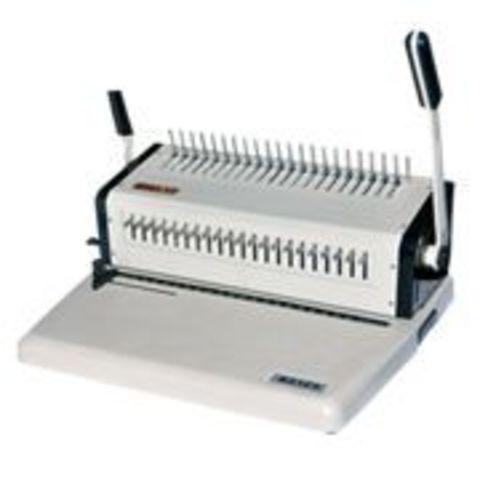 Переплетчик на пластиковую пружину Office Kit B2125: перфорация 25 листов, объем блока 500 листов