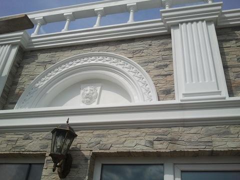 Оформление фасада частного дома, Агрыз